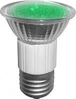 LED Лампа BUKO JDR E27 220V 18Leds зеленая