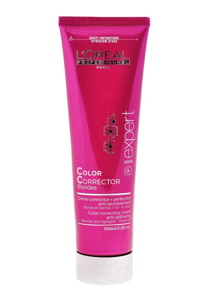 """Крем для коррекции цвета окрашенных волос против желтизны """"L'Oreal"""" Vitamino Color a-ox (150ml)"""