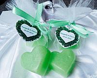 Мятное мыло - подарки гостям свадьбы, ручная работа