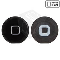 Пластик на кнопку HOME для Apple iPad 2, оригинал, черный