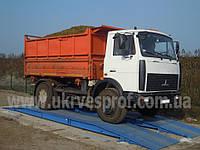 Автомобильные весы бесфундаментные 30т-6м Фермер 6 метров 30 тонн