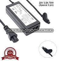 Блок питания для ноутбука Dell 20V 3.5A 70W 3 pin (B)