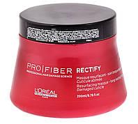 """Маска восстанавливающая для слабо поврежденных волос """"L`Oreal"""" Pro-Fiber Rectify (200ml), фото 1"""