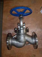 Клапан (вентиль) запорный 15нж65бк (15нж65нж) Ду40 Ру16 нержавеющий