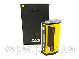 Бокс МОД IJOY MAXO 315 W, на 4 аккумулятора 18650, температурный контроль, жёлтый