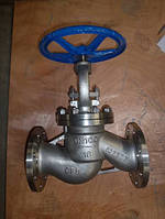 Клапан (вентиль) запорный 15нж65бк (15нж65нж) Ду125 Ру16 нержавеющий