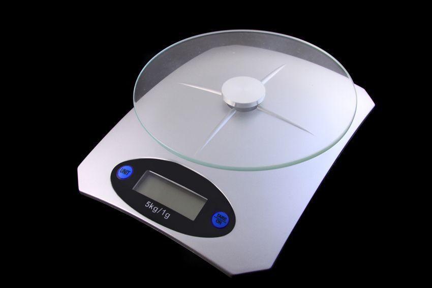 Кухонные электронные весы от 1г до 5 кг Air Glass