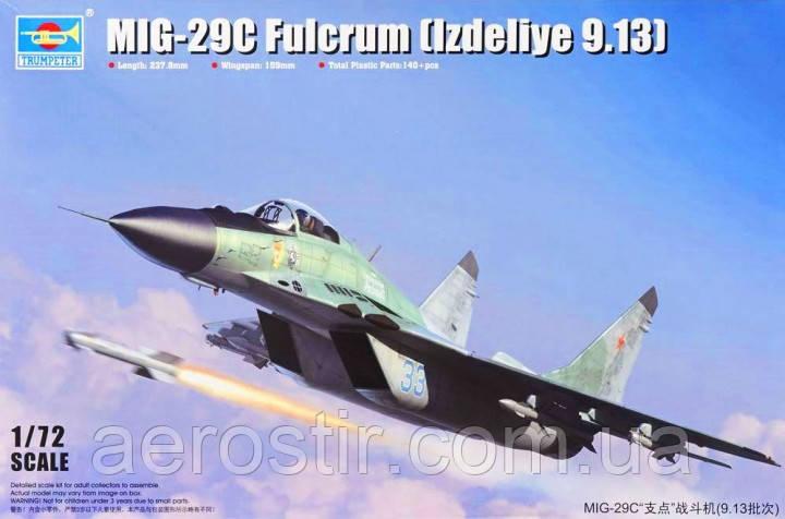 MIG-29C Fulcrum [9-13] 1/72 TRUMPETER 01675