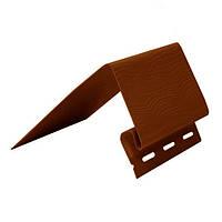 Планка околооконная ТМ FaSiding коричневая