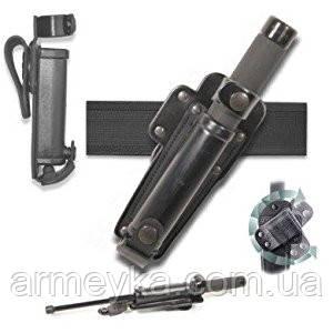 Чехол (подсумок) для телескопическопа кожа+пластик. Полиция Великобритании, оригинал.