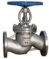 Клапан (вентиль) запорный 15с22нж Ду40 Ру40 фланцевый