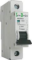Автоматический выключатель ECO AB2000 1р 16А 6кА