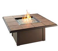 Био-очаг-стол квадратный Плитка