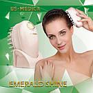 Массажер для головы и волос US MEDICA Emerald Shine