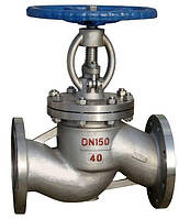 Клапан (вентиль) запорный 15с22нж Ду100 Ру40 фланцевый