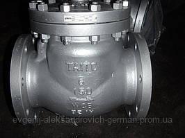 Клапан зворотний 19с17нж(КОП 40) Ду150 Ру40 поворотний фланцевий