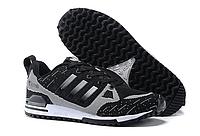 Кроссовки мужские Adidas Оriginals ZX750 Flyknit (black/grey) - 22Z