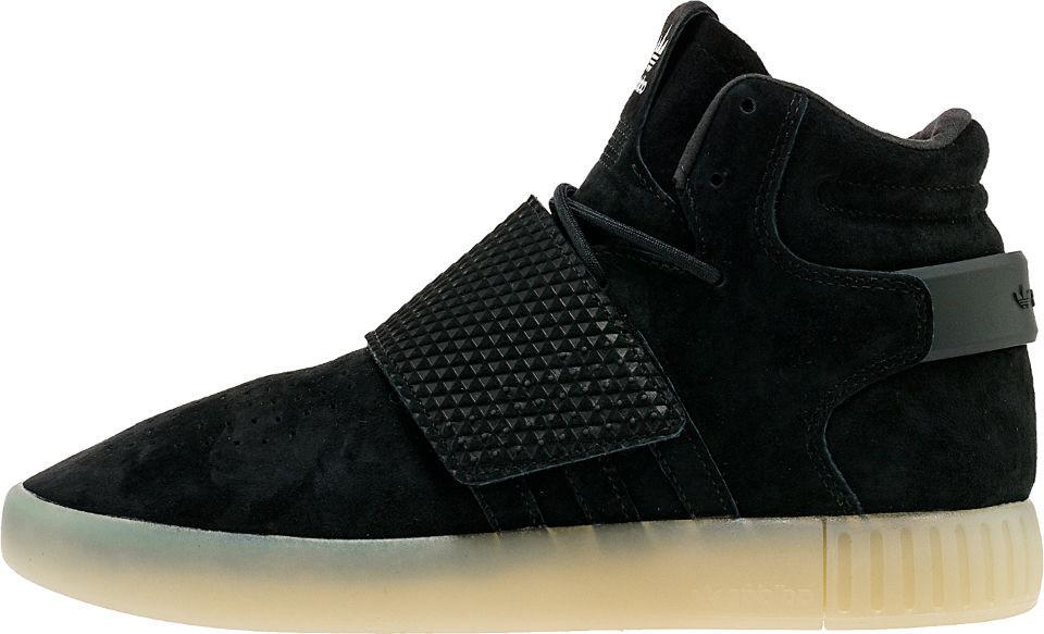 Мужские кроссовки Adidas Tubular Invader Strap Black/White BB5037, Адидас Тубулар