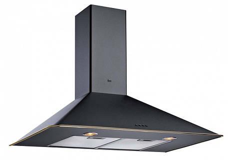 """Вытяжка кухонная Teka DOS 60.1 (Rustica), чорний, кант """"латунь"""" 40489313, фото 2"""
