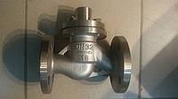 Клапан обратный нержавеющий 16нж10бк Ду32 Ру16 подьемный фланцевый