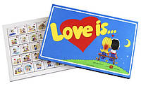 Шоколадный набор любимым Love is 40 шок ( подарки на 14 февраля )