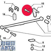 Болт сайлентблока ресори задній Fiat Doblo 46468577