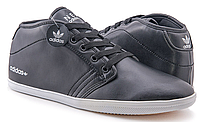 Кроссовки мужские Adidas Neo Casual High (black) - 02Z