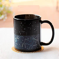 Чашка хамелеон Созвездия (кружка звездное небо)