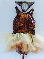 """Платье-пачка """"Кошечка"""", Тигрица"""