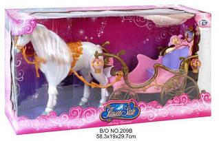 Кареты и лошади для кукол