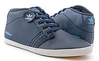 Кроссовки мужские Adidas Neo Casual High (blue) - 03Z