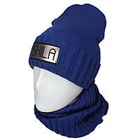 Комплект шапка с флисом и хомут  Реп, фото 1