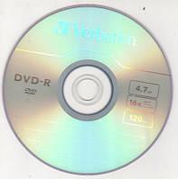 """DVD-R диск """"Verbatim"""" в конверті"""