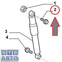 Болт заднього амортизатора верхній Fiat Doblo 46839149