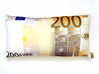 Антистрессовая подушка Купюра 200 евро 39Х18