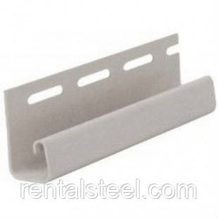 Планка j-trim ТМ FaSiding маковые зерна