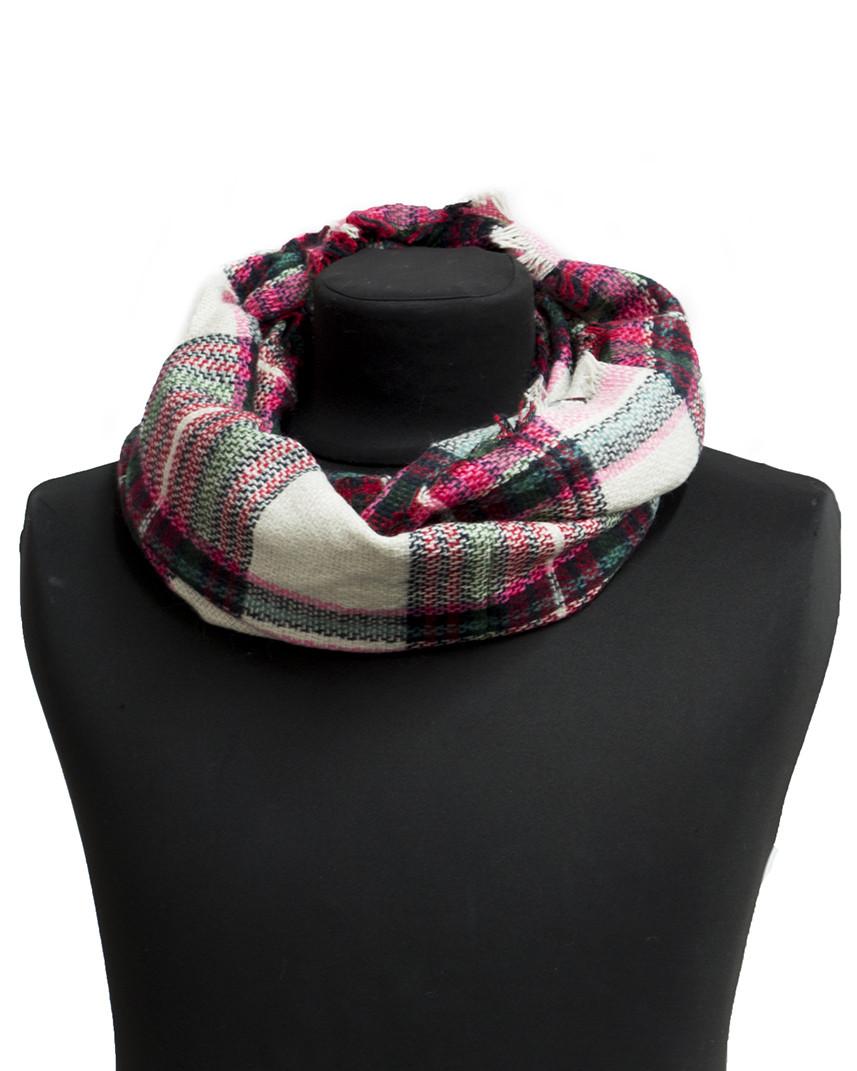 Стильный демисезонный шарф Bruno Rossi
