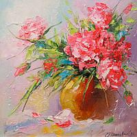 «Букет роз» картина маслом