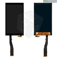 Дисплейный модуль (дисплей + сенсор) для HTC One E9s Dual SIM, черный, оригинал