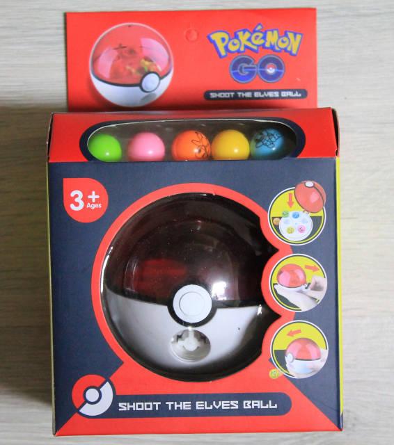 Игровой набор с шариками Покемон Pokemon Go в коробке, фото 1