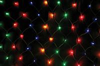 Гирлянда Сетка светодиодная 240 led мульти 3х1м