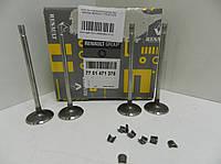 Впускной клапан (4шт) на Renault Kangoo II 2008,Renault logan 1.6,Renault Duster K4J K4M-> 1.6 -7701471378
