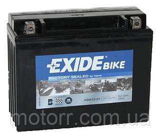 Аккумулятор Exide AGM12-23