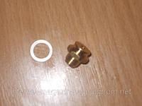 Втулка латунная датчика расхода теплоносителя под зажим Fugas