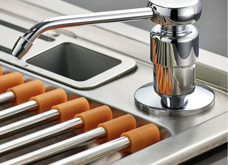 Дозатор жидкого мыла кухонный для кафе ресторана супермаркета