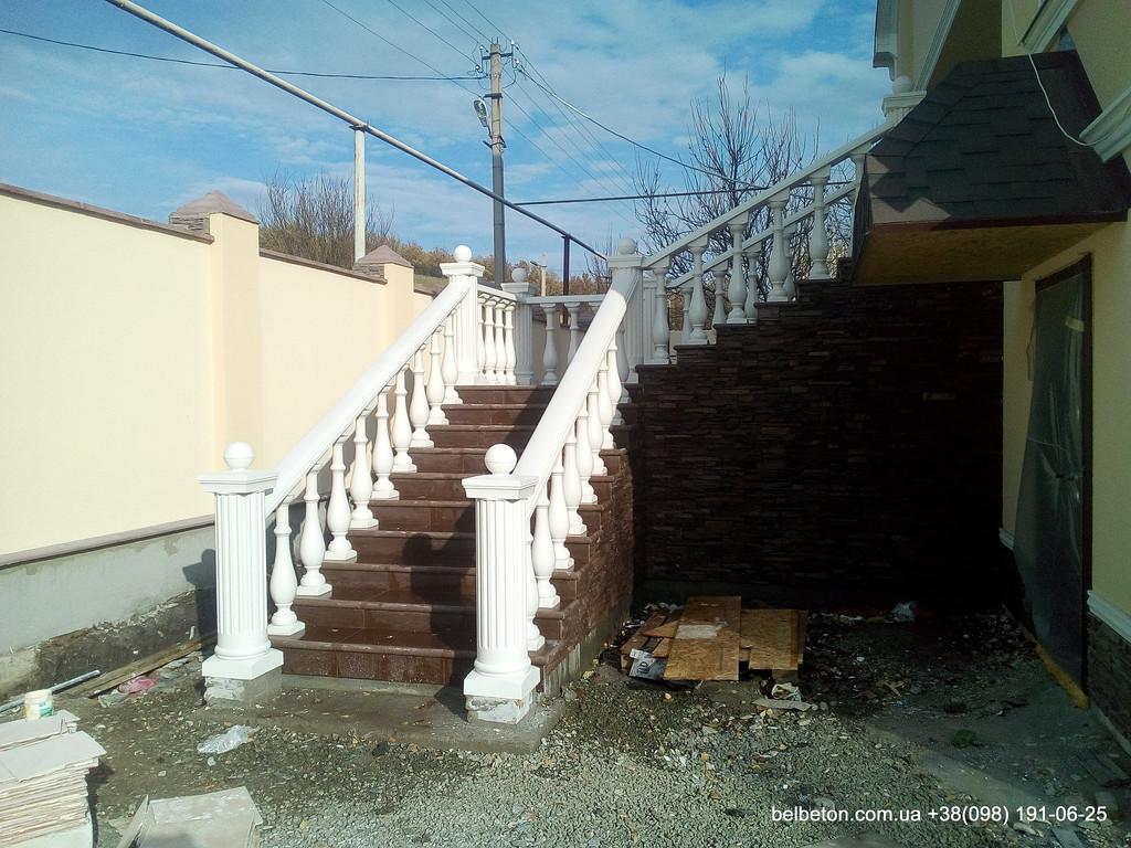 Балясины Бахмут | Бетонная балюстрада в Бахмуте Донецкая область 9