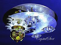 Светодиодный потолочный светильник с пультом