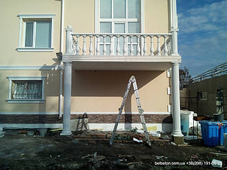 Балясины Бахмут   Бетонная балюстрада в Бахмуте Донецкая область 7