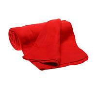 Компактный плед с ручкой Красный