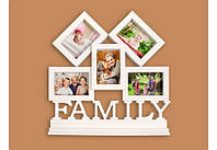 Фотоколлаж с подставкой Семья 5 фото